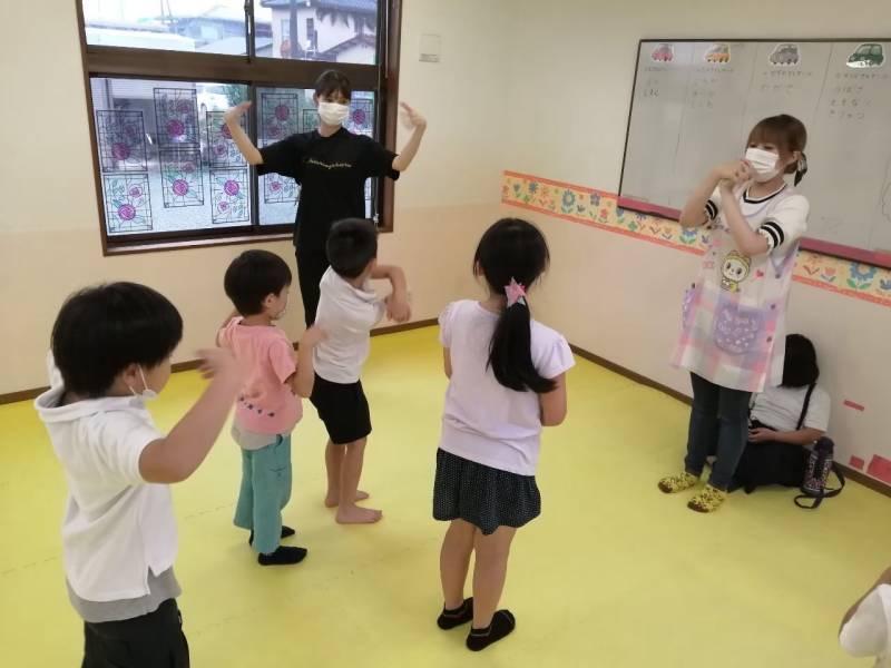 熊本県合志市の施設での普段の様子