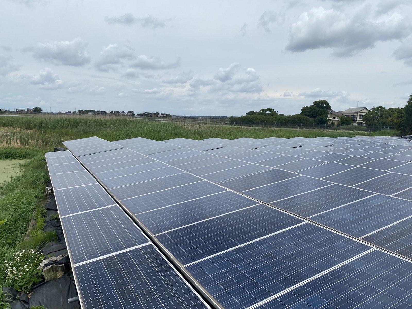 「SOL SELL 再生可能エネルギープロジェクト #001」の対象太陽光発電所