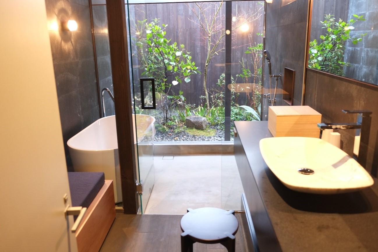 After: 宿ルKYOTO洞窟ノ宿(東) 1階 バスルーム