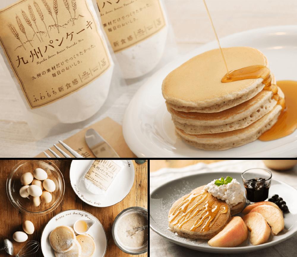 国内のみならず海外でも展開する九州パンケーキ
