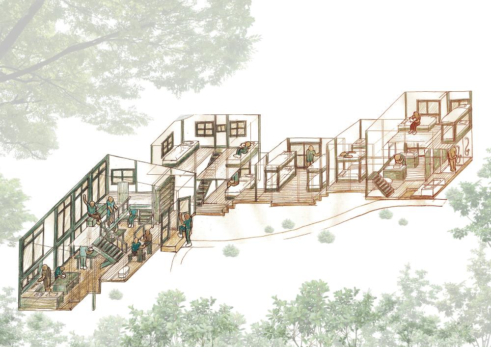 北鎌倉の新拠点の完成イメージ図(アドレス提供)