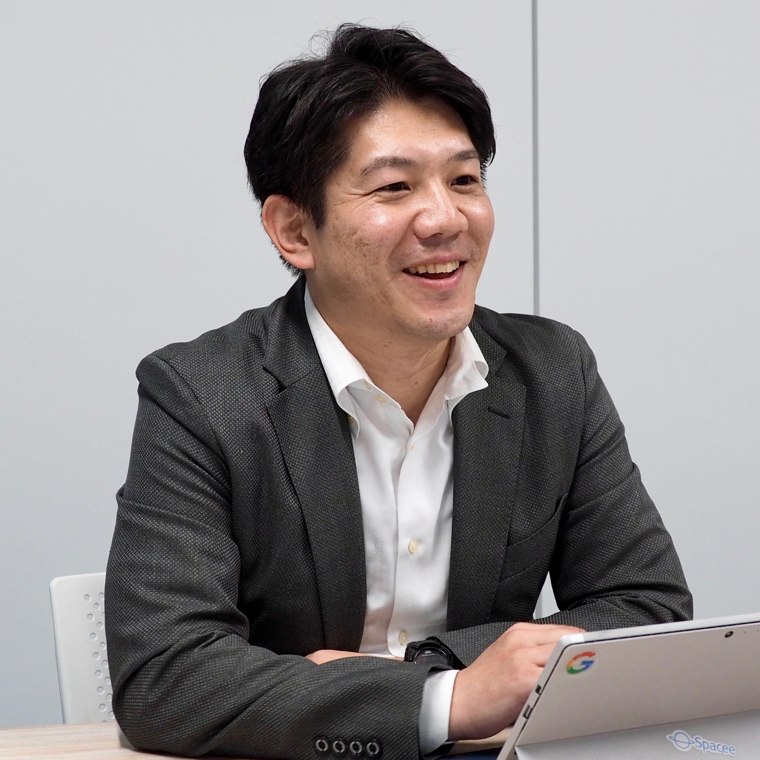 株式会社スペイシー執行役員 武田 正史氏